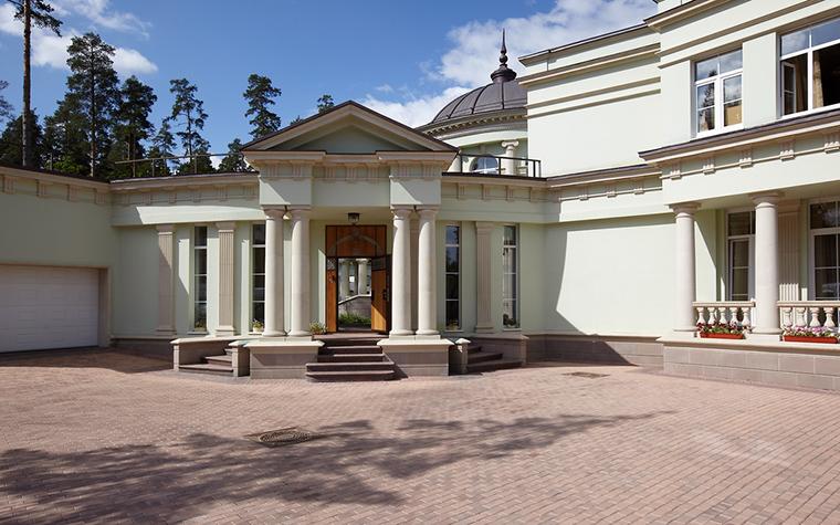 Загородный дом. фасад из проекта , фото №17999