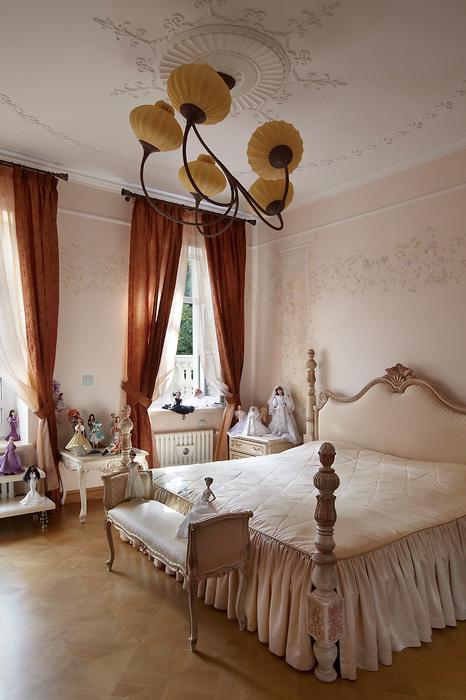 Фото № 18028 спальня  Загородный дом