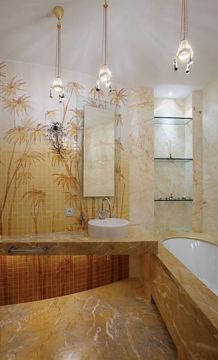 Загородный дом. ванная из проекта , фото №18030