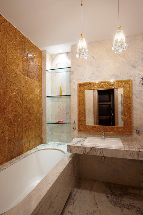 Загородный дом. ванная из проекта , фото №18031