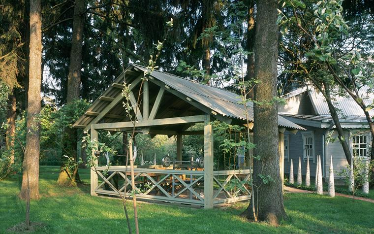 Загородный дом. беседка из проекта , фото №20408