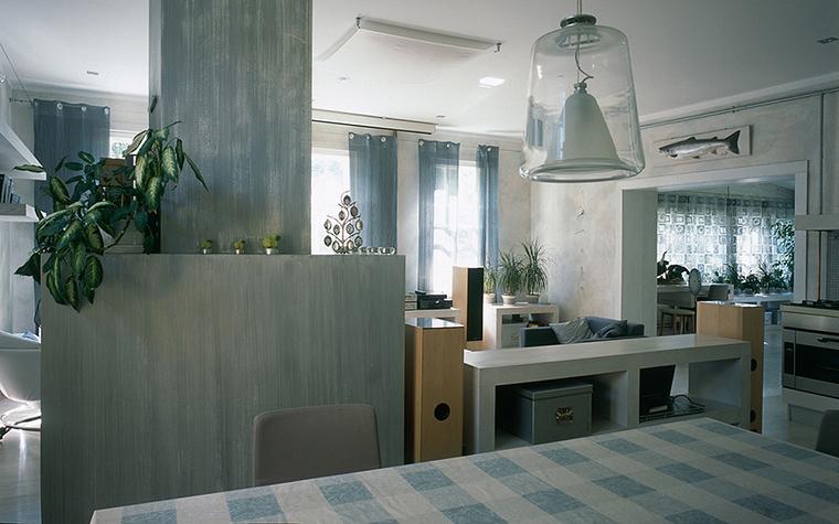 Фото № 20404 кухня  Загородный дом