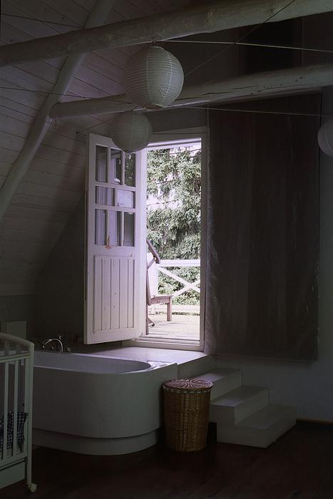 Загородный дом. ванная из проекта , фото №18043