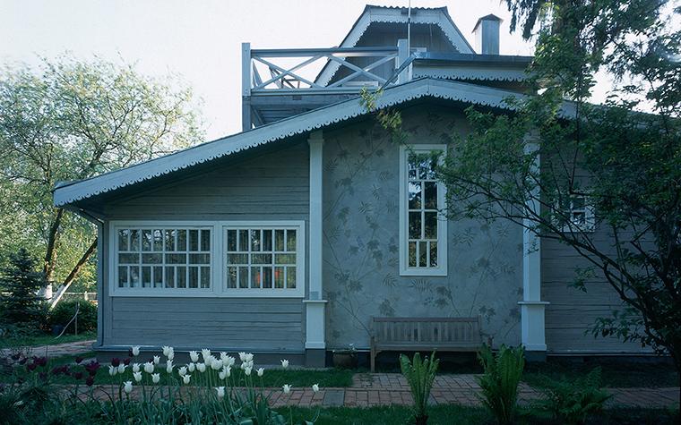 Загородный дом. фасад из проекта , фото №20401
