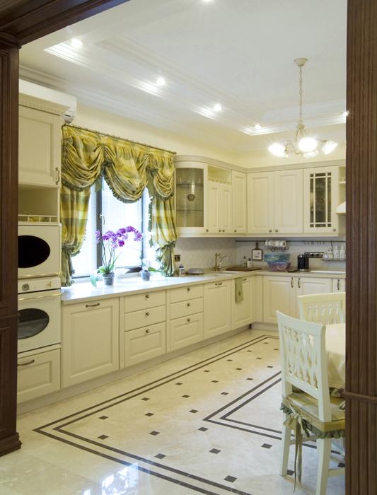 Фото № 18078 кухня  Загородный дом