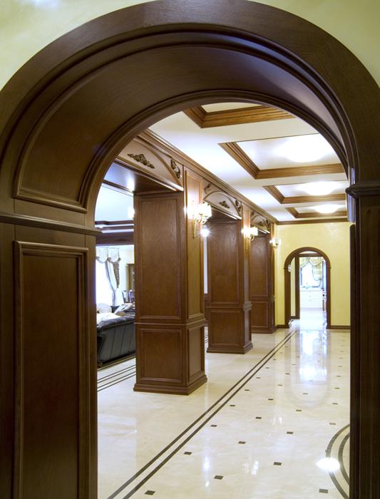 Фото № 18083 холл  Загородный дом