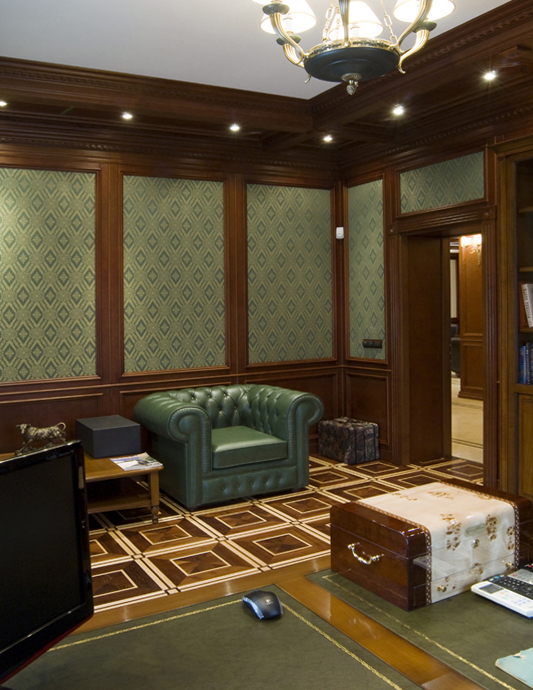 интерьер кабинета - фото № 18081