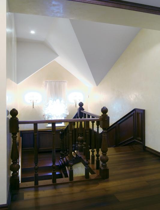 Загородный дом. холл из проекта , фото №18087