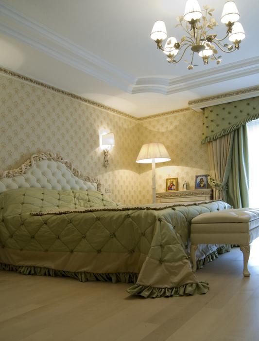 Фото № 18096 спальня  Загородный дом