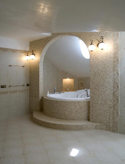 Фото № 18089 ванная  Загородный дом