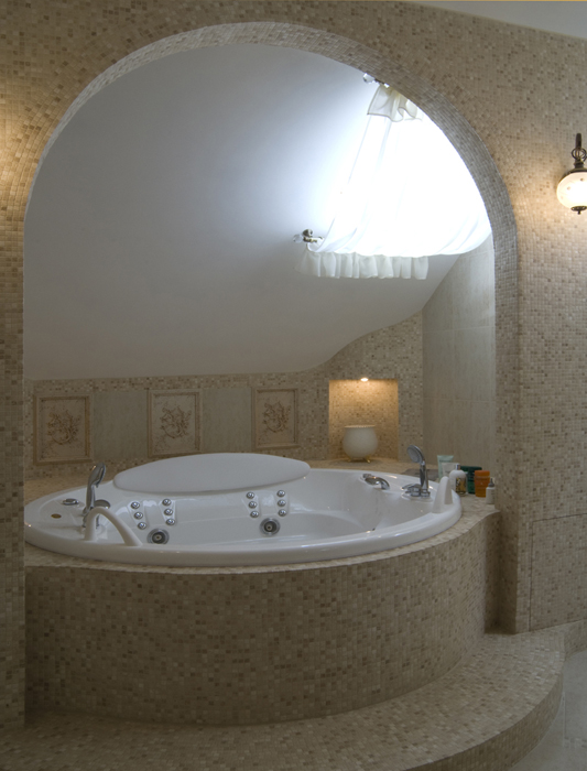 Фото № 18090 ванная  Загородный дом