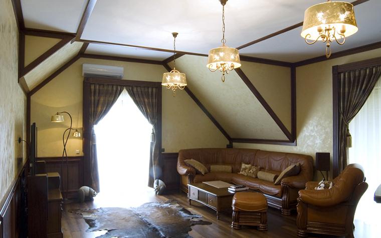 Фото № 18099 гостиная  Загородный дом