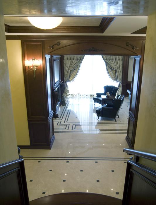 Загородный дом. холл из проекта , фото №18101
