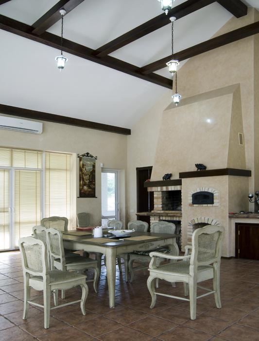 Фото № 18102 кухня  Загородный дом