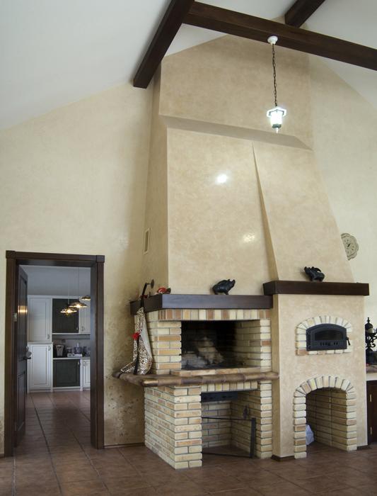 Фото № 18103 кухня  Загородный дом