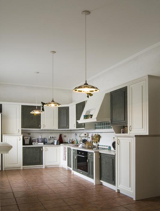 Фото № 18105 кухня  Загородный дом