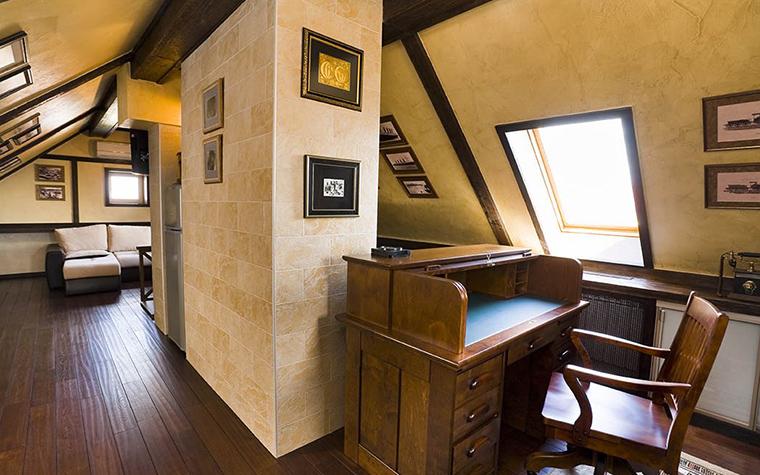Фото № 18139 кабинет библиотека  Загородный дом