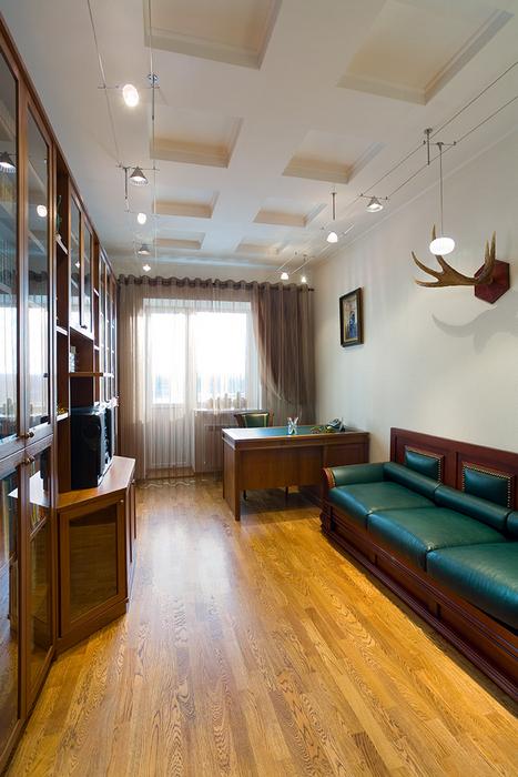 Загородный дом. кабинет из проекта , фото №18163