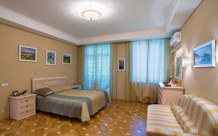 Загородный дом. спальня из проекта , фото №18147