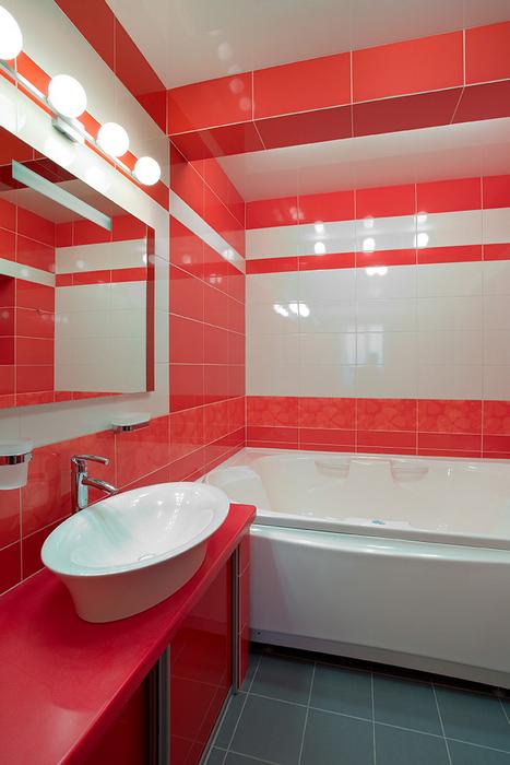 Загородный дом. ванная из проекта , фото №18152