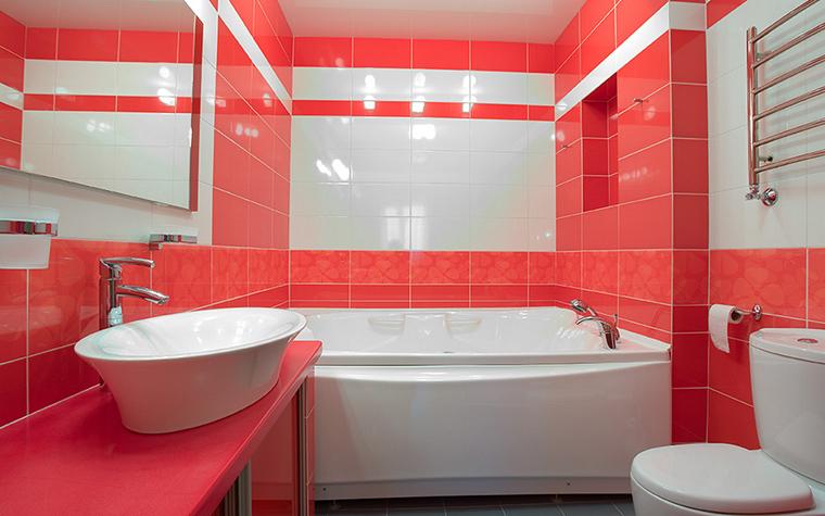 Загородный дом. ванная из проекта , фото №18153