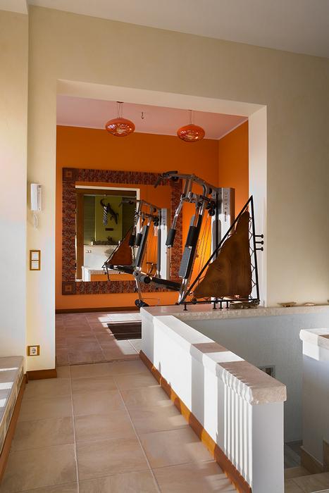 Загородный дом. холл из проекта , фото №18154