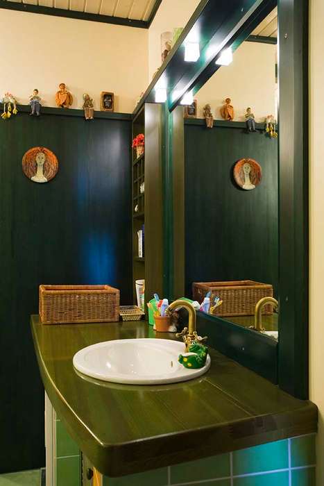 Загородный дом. ванная из проекта , фото №18178