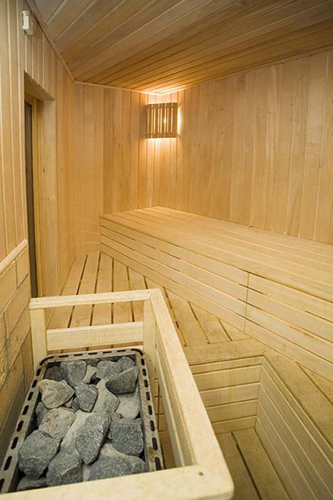 Загородный дом. баня сауна из проекта , фото №18182