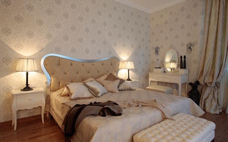 Загородный дом. спальня из проекта , фото №18218