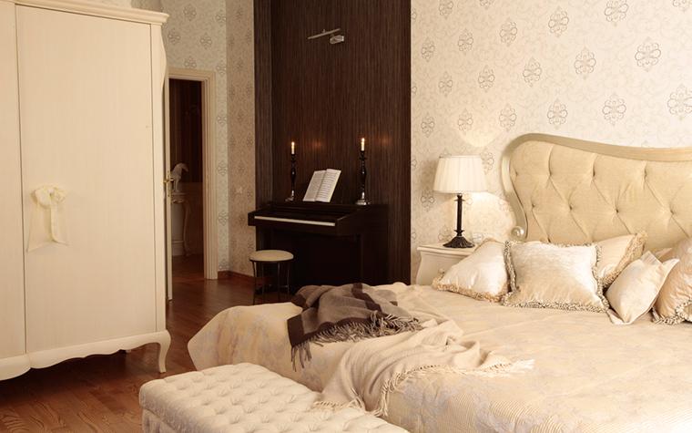Загородный дом. спальня из проекта , фото №18219