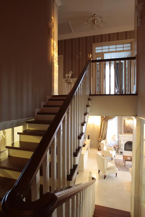 Загородный дом. холл из проекта , фото №18227