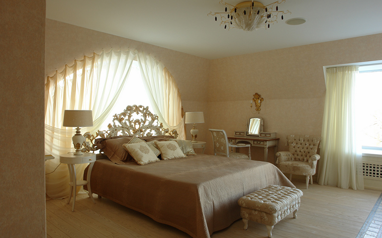 Фото № 18300 спальня  Загородный дом