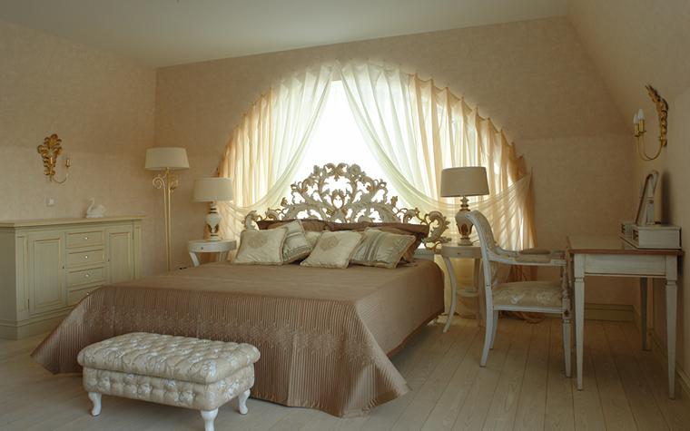 Фото № 18301 спальня  Загородный дом