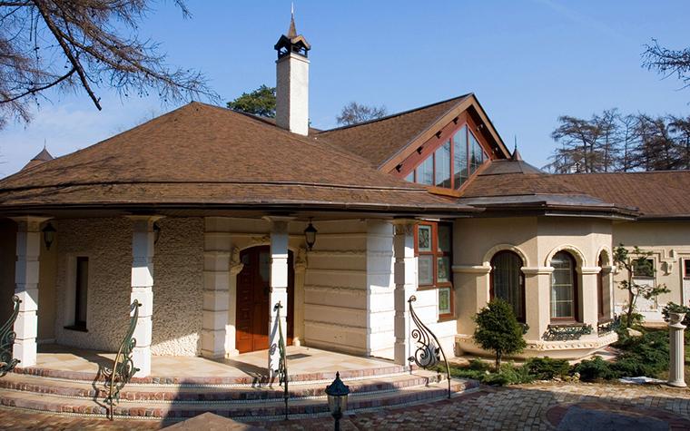 Фото № 18452 фасад  Загородный дом