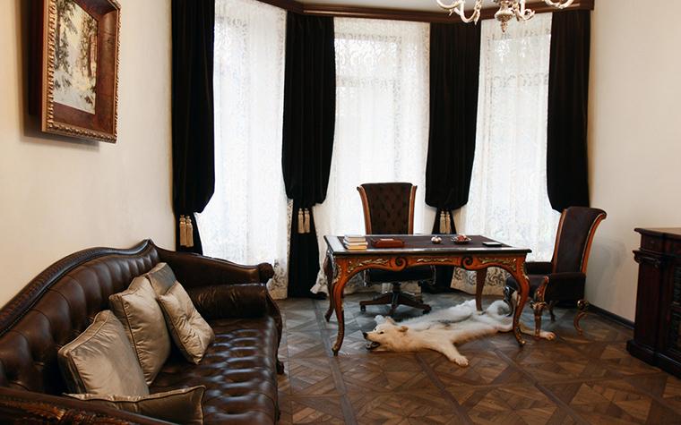 Загородный дом. кабинет из проекта , фото №18664