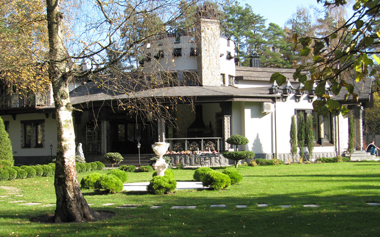 Фото № 18649 фасад  Загородный дом