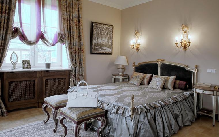 Фото № 18739 спальня  Загородный дом