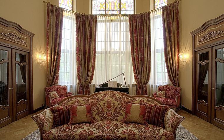 Фото № 18728 гостиная  Загородный дом