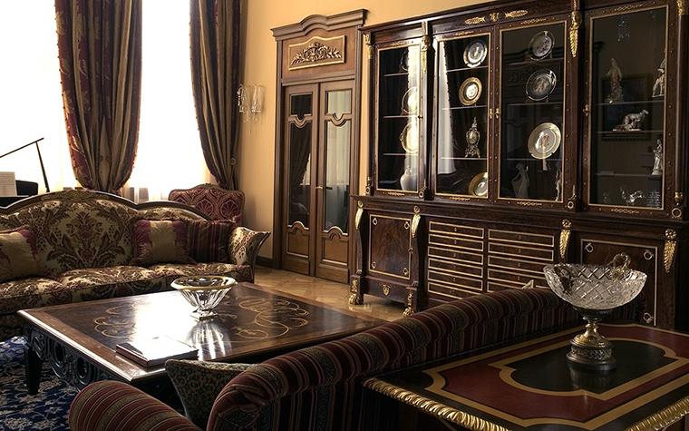 Фото № 18725 гостиная  Загородный дом