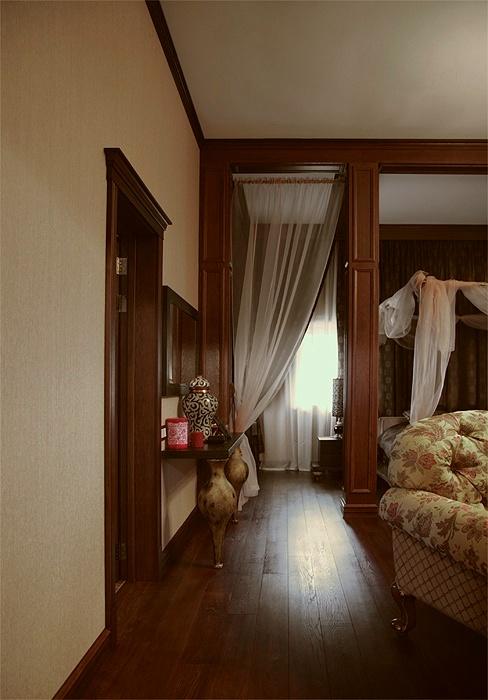 Загородный дом. спальня из проекта , фото №18760