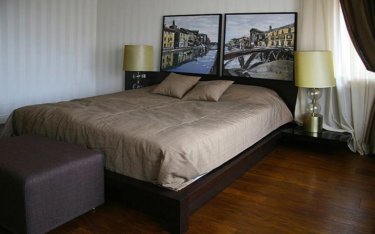 Фото № 18766 спальня  Загородный дом