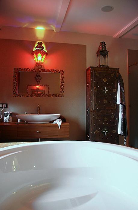 Загородный дом. ванная из проекта , фото №18781