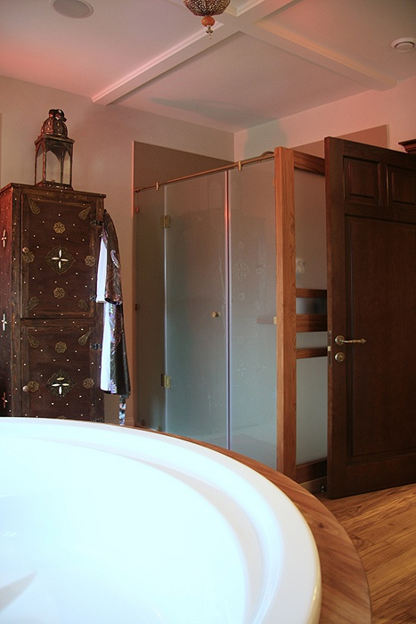 Загородный дом. ванная из проекта , фото №18782