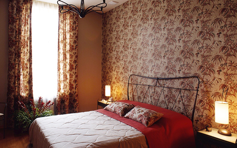 интерьер спальни - фото № 19008