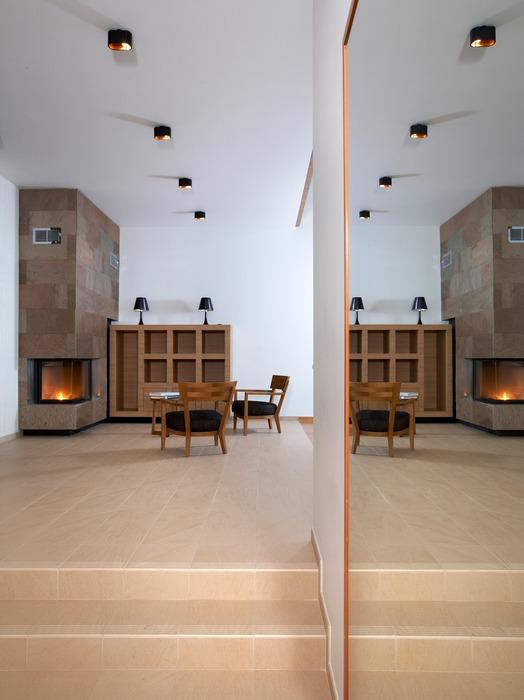 Дизайн интерьера мансарде