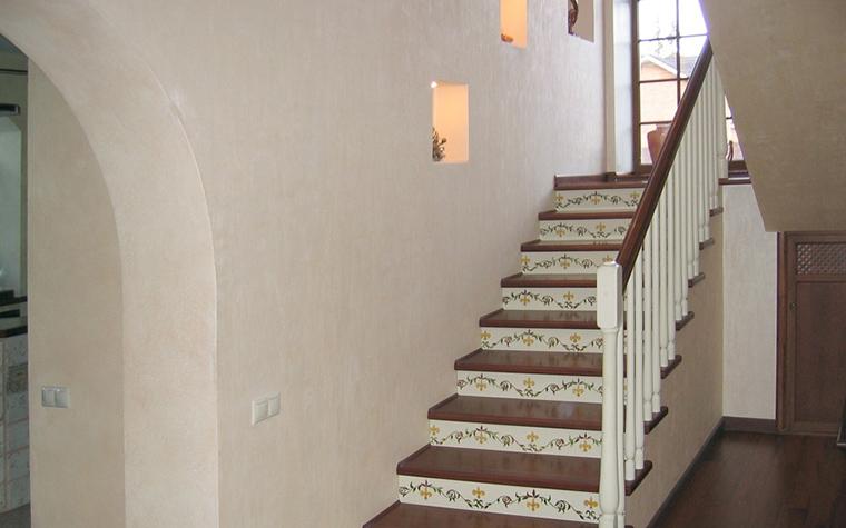Загородный дом. холл из проекта , фото №19158