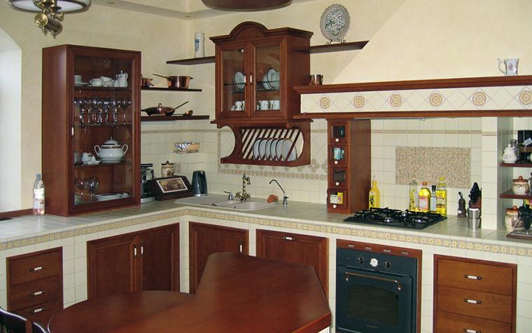 Загородный дом. кухня из проекта , фото №19164