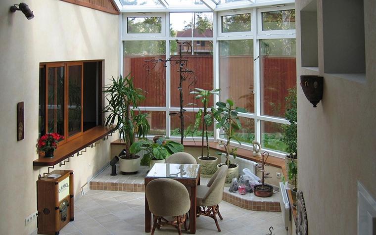 Загородный дом. зимний сад из проекта , фото №19162