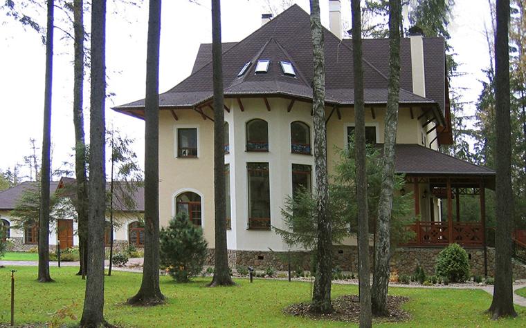 Загородный дом. фасад из проекта , фото №19153