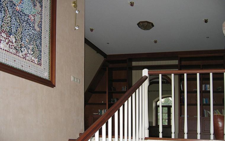 Загородный дом. холл из проекта , фото №19156